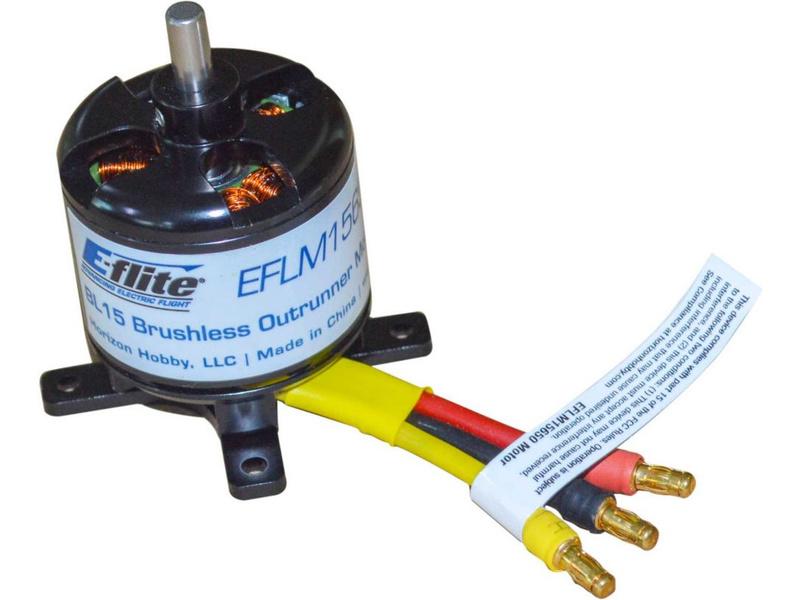 E-flite motor střídavý BL15 650ot/V