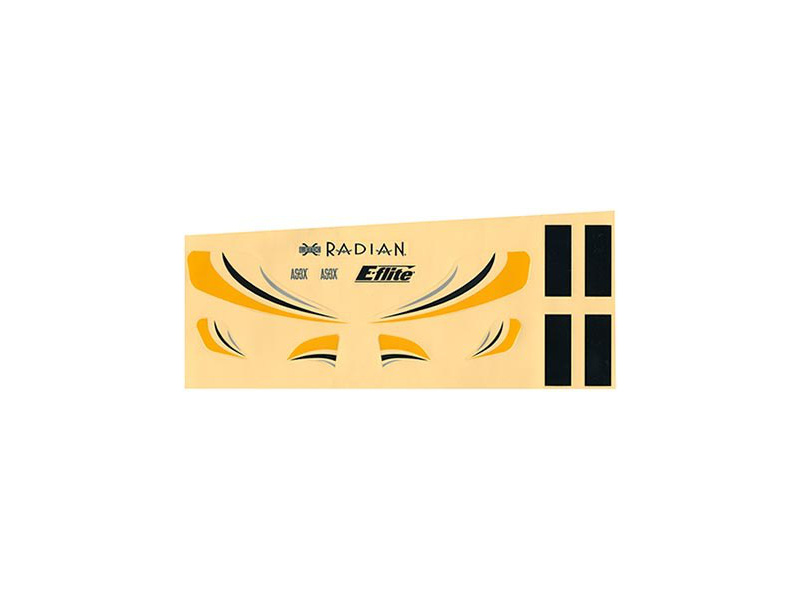 E-flite samolepky: Ultra Micro Radian