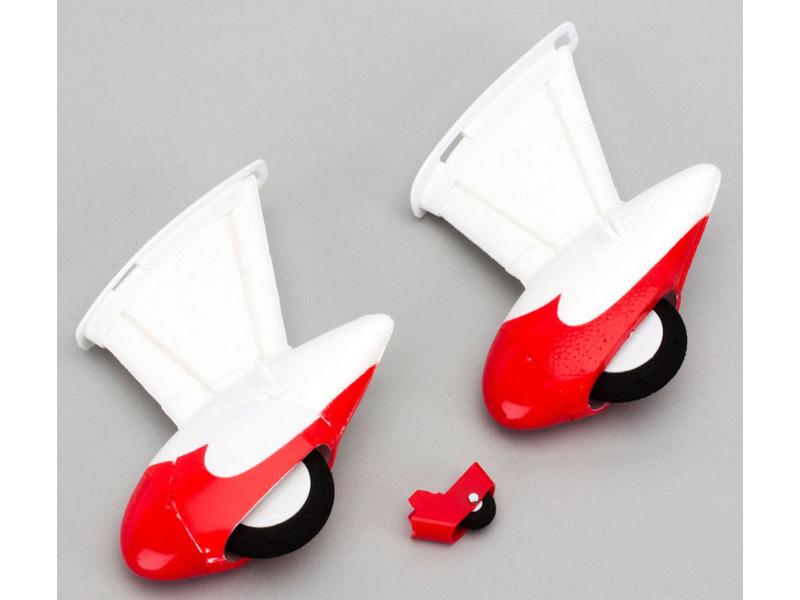 E-flite podvozek s ostruhou: Micro Gee Bee R2