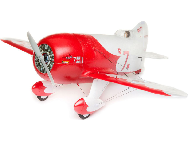 E-flite Gee Bee R-2 0.5m SAFE Select BNF Basic