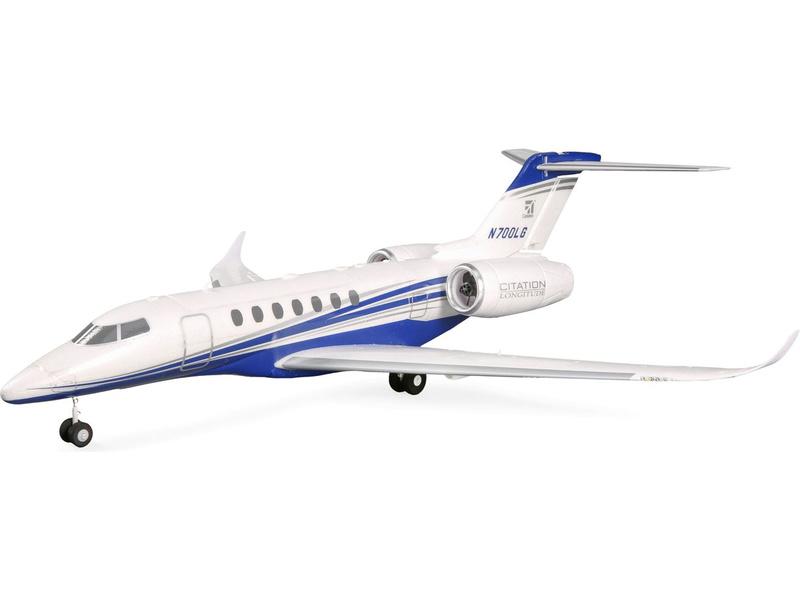 E-flite Cessna Citation 0.64m SAFE Select BNF Basic