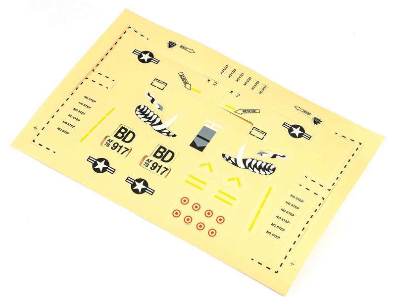 A-10 0.56m: E-flite samolepky