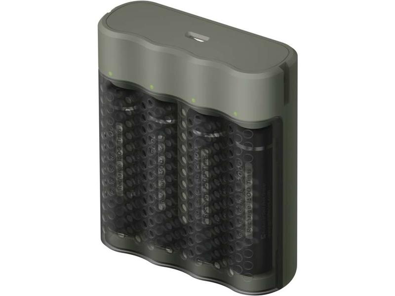 GP USB nabíječ Speed E451 + 4AA GP ReCyko Pro 2000