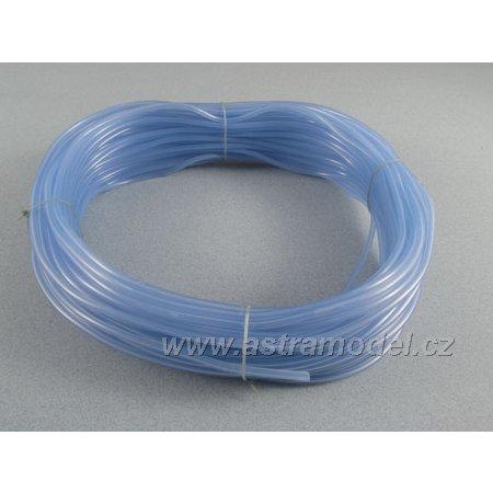 Silikonová hadička 2.4/5.5mm modrá (50m)
