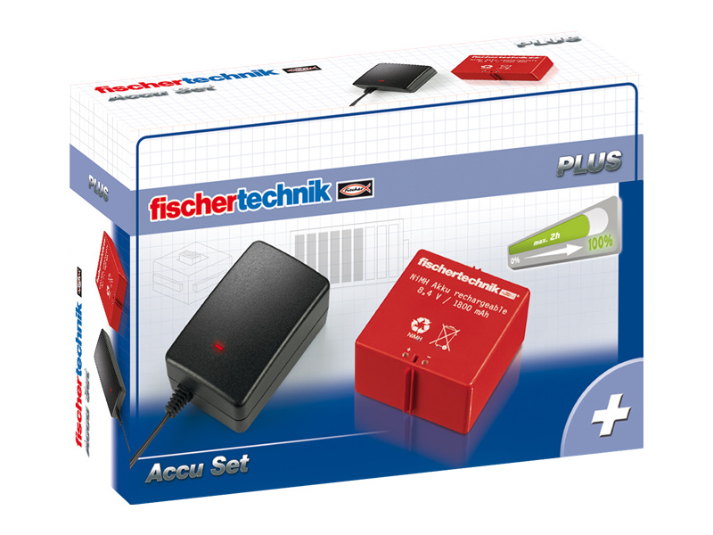 fischertechnik Plus Accu Set 220V