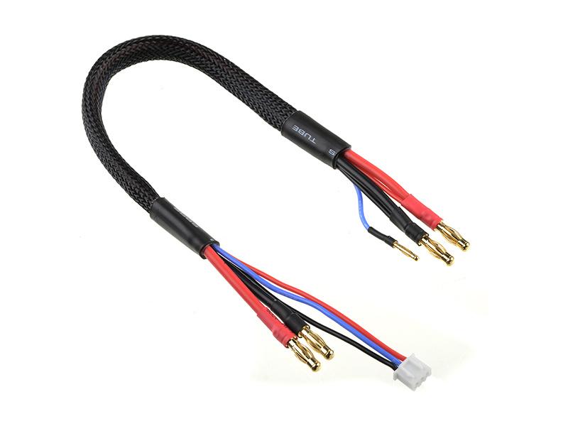 Nabíjecí kabel s 2S XH -> 5mm/2mm 30cm