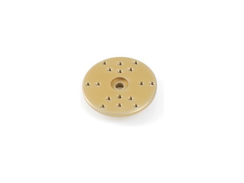 Páka serva kruhová 28mm hliník Hitec