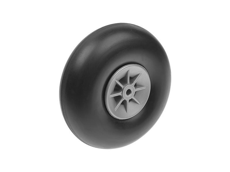 Podvozková kola gumová 100mm (2)
