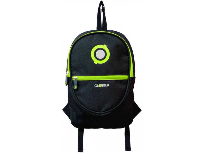 Globber - Junior batoh Black / Lime Green