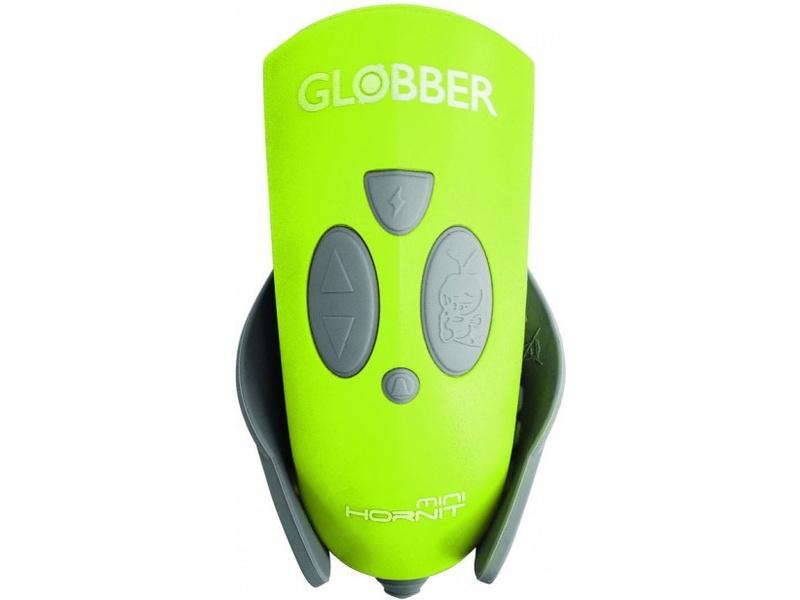 Globber - Mini Hornit světlo se zvonkem Lime Green