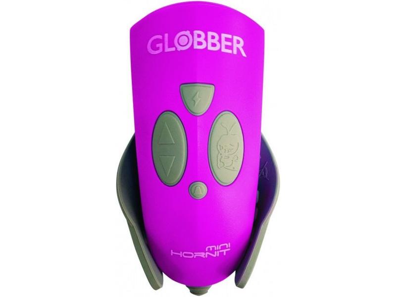 Globber - Mini Hornit světlo se zvonkem Deep Pink