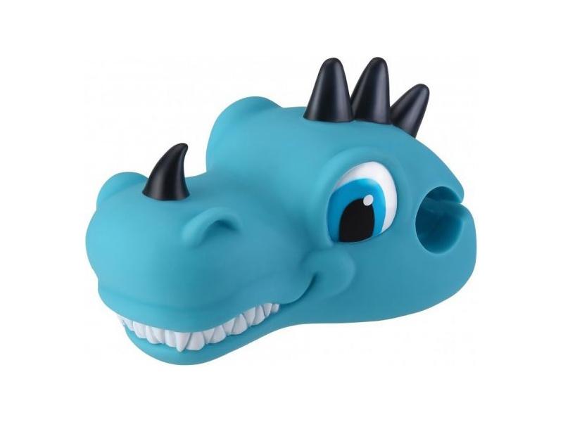 Globber - Hlavička ozdobná na koloběžku Dino Blue