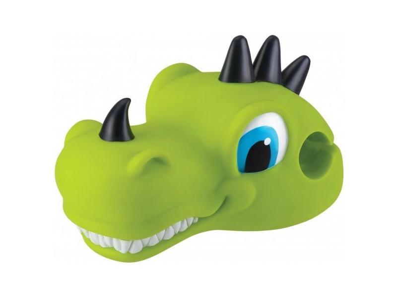 Globber - Hlavička ozdobná na koloběžku Dino Lime Green