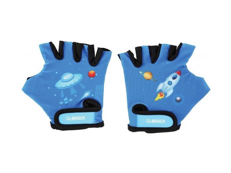 Globber - Dětské ochranné rukavičky XS Rocket Navy Blue