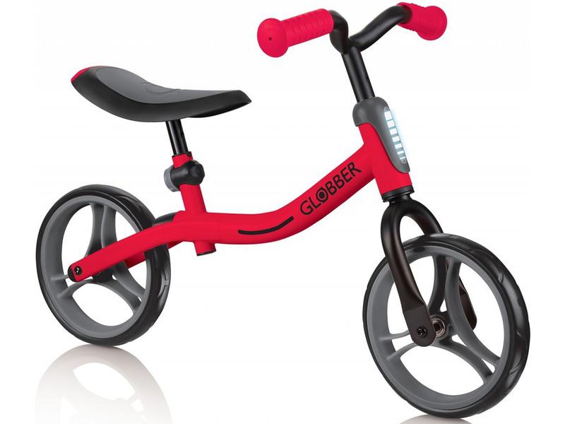 Globber - Dětské odrážedlo Go Bike New Red