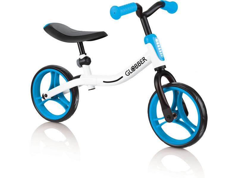 Globber - Dětské odrážedlo Go Bike White / Sky Blue