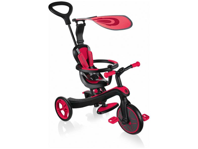 Globber - Tříkolka Explorer Trike 4in1 Red