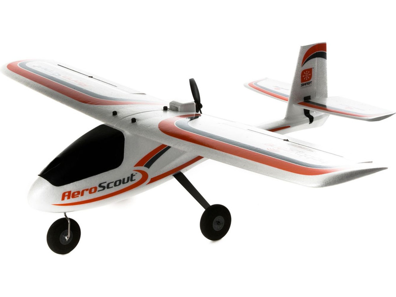 Hobbyzone AeroScout 1.1m SAFE BNF Basic