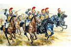 Italeri figurky - FRENCH HEAVY CAVALRY (NAP. WARS) (1:72)
