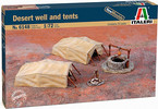 Italeri diorama - Desert Well and Tents (1:72)