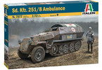 Italeri Sd.Kfz. 251/8 Ambulance (1:72)