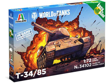 Italeri Easy Kit World of Tanks - T 34/85 (1:72) / IT-34102