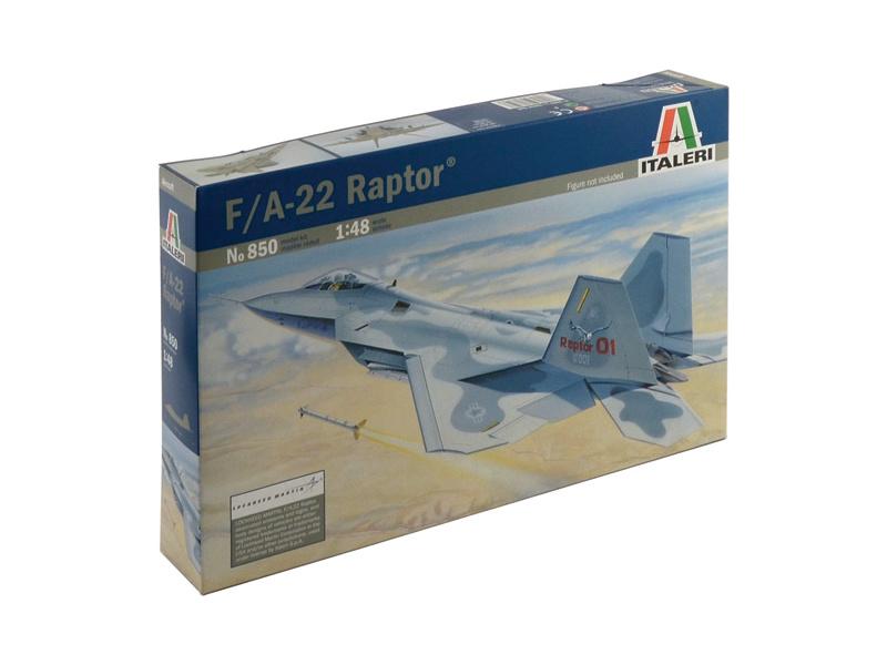 Italeri F-22 Raptor (1:48)