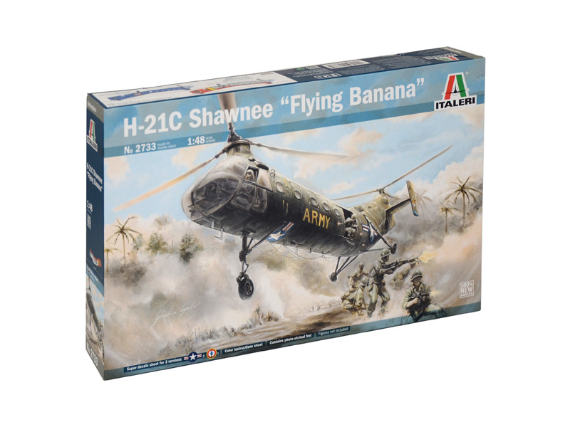 "Italeri H-21C Shawnee ""Flying Banana"" (1:48)"