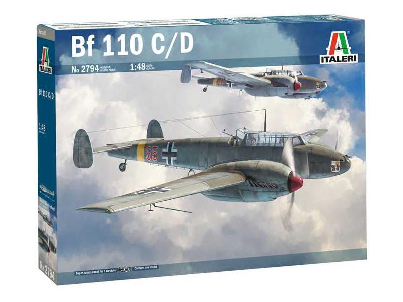Italeri Messerschmitt BF 110 C/D (1:48)