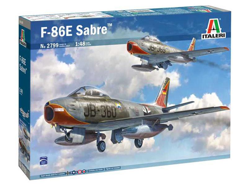 Italeri North American F-86E Sabre (1:48)
