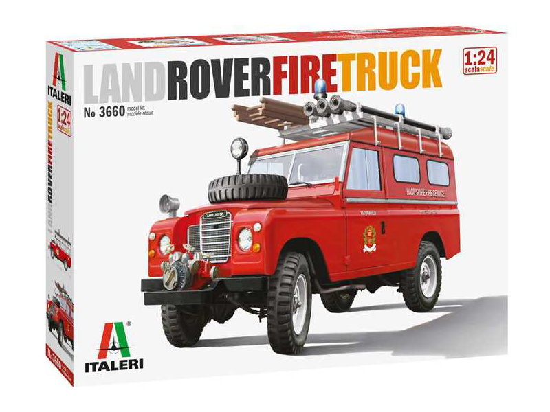 Italeri Land Rover Fire Truck (1:24)