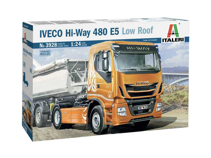Italeri Iveco HI-WAY 490 E5 (Low Roof) (1:24)