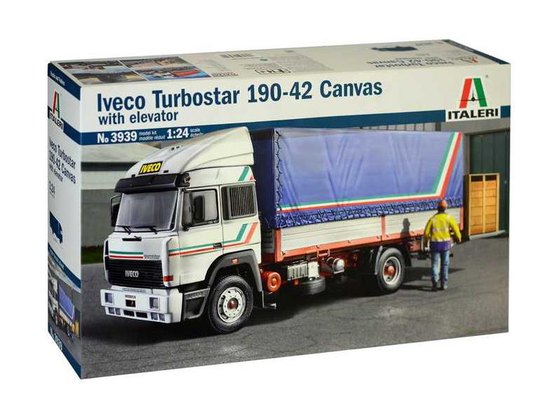Italeri Iveco Turbostar 190-42 Canvas (1:24)