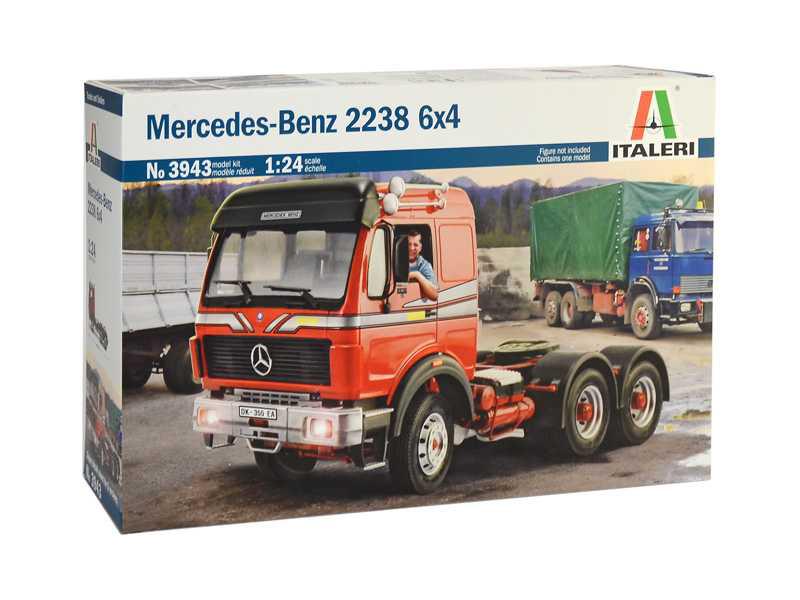 Italeri Mercedes-Benz 2238 6x4 (1:24)