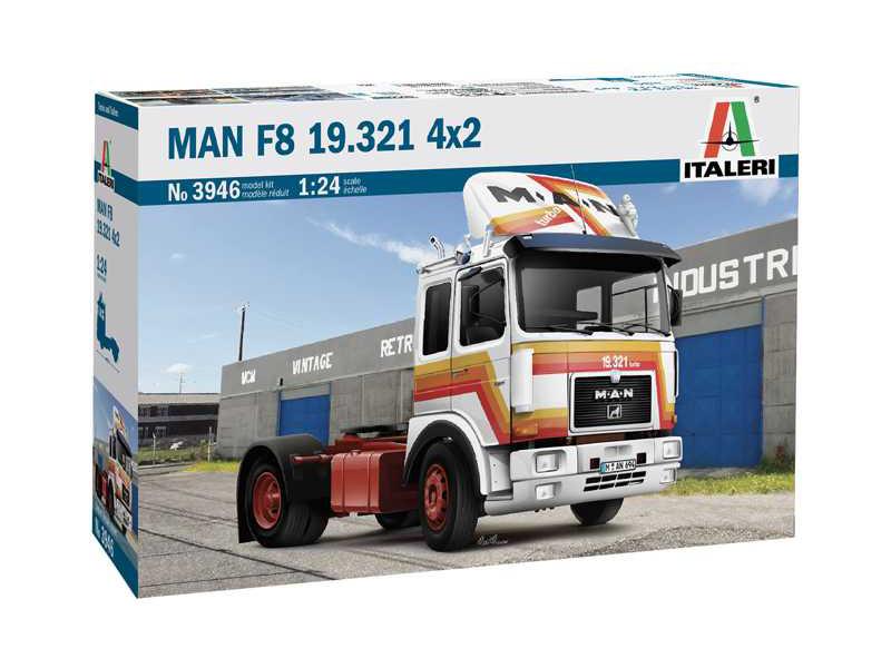 Italeri MAN F8 19.321 4x2 (1:24)