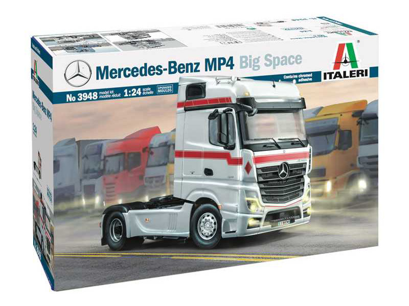 Italeri Mercedes-Benz MP4 Big Space (1:24)