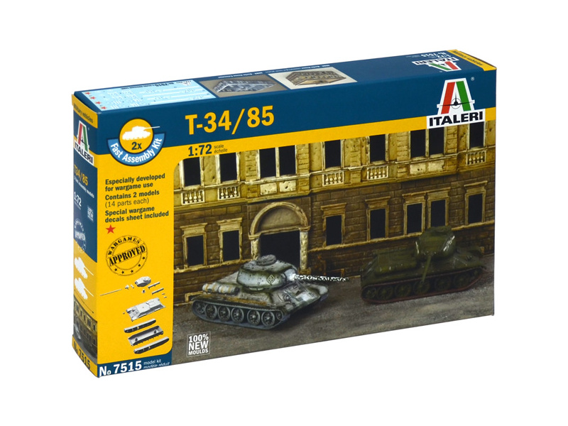 Italeri Easy Kit - T-34/85 (1:72)