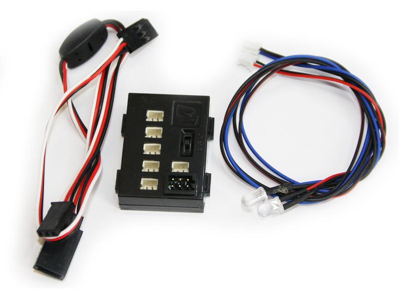 Killerbody světelná sada 1:10 2x LED, řídicí jednotka