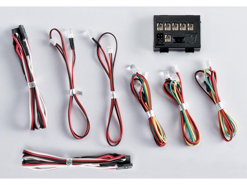Killerbody světelná sada 1:10 8x LED, řídicí jednotka