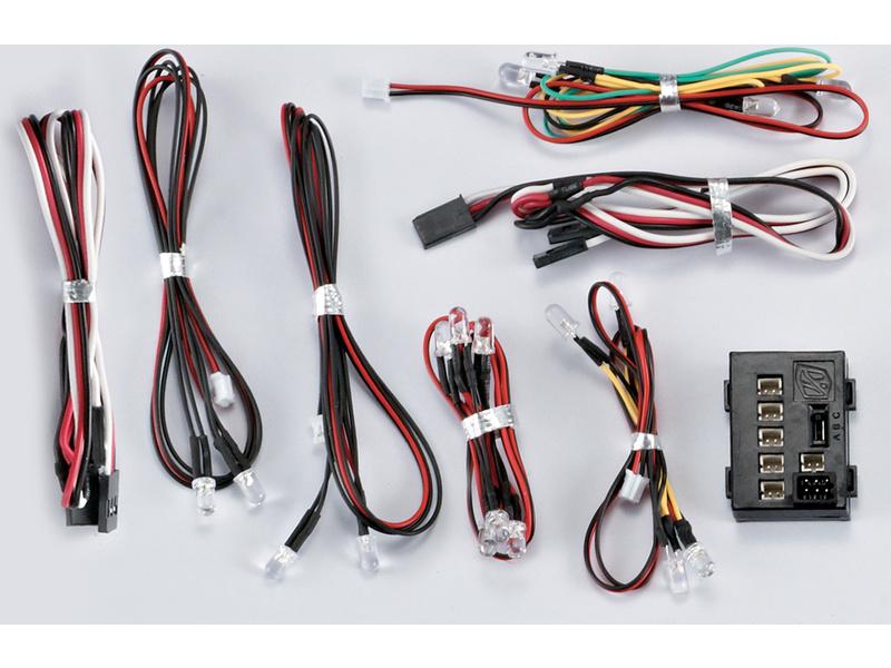 Killerbody světelná sada 1:10 18x LED, řídicí jednotka