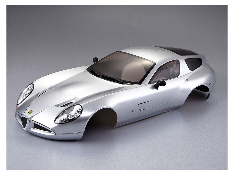 Killerbody karosérie 1:10 Alfa Romeo TZ3 Corsa stříbrná