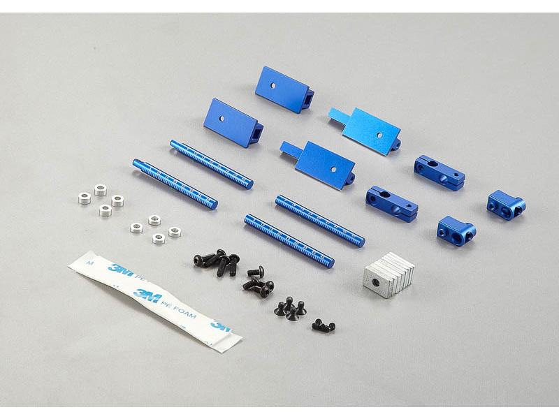 Killerbody držáky karoserie hliníkové s magnety