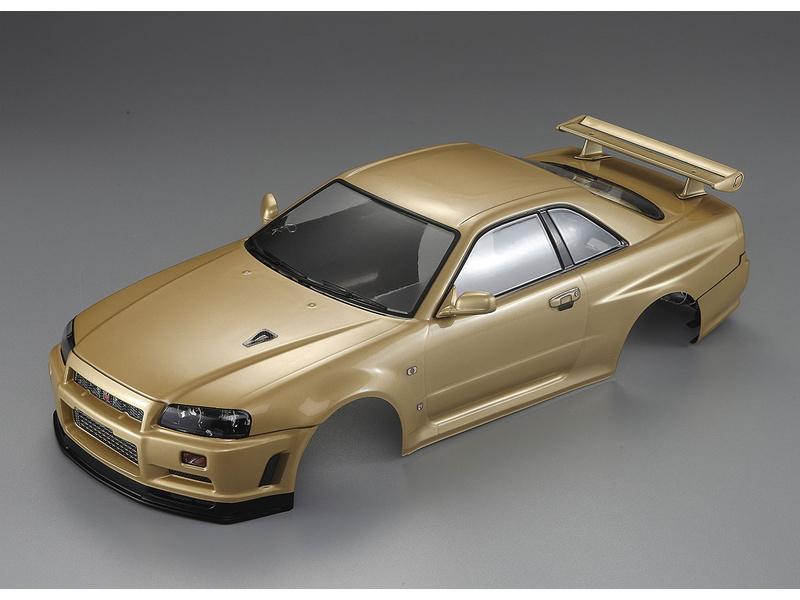 Killerbody karosérie 1:10 Nissan Skyline R34 zlatá