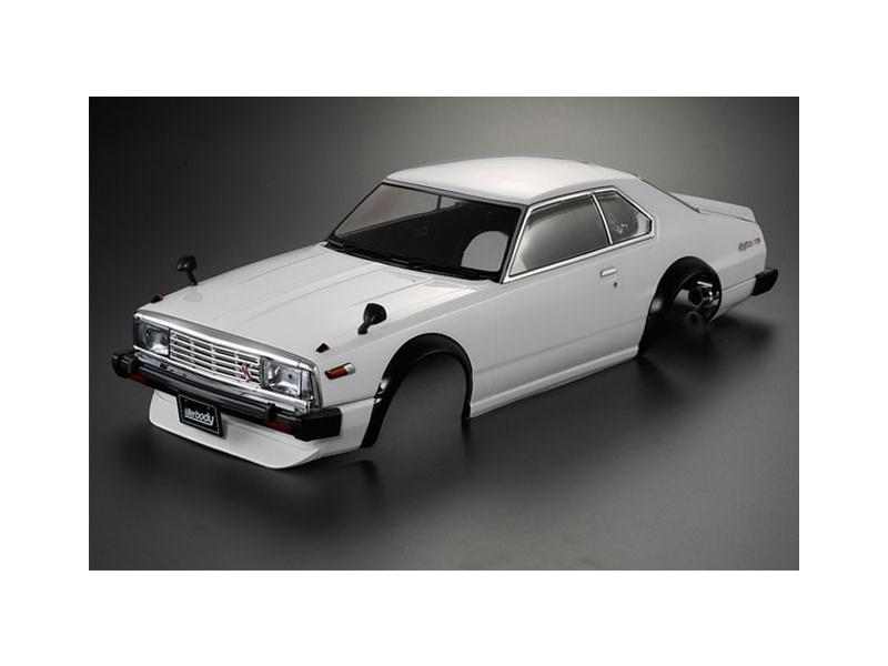 Killerbody karosérie 1:10 Nissan Skyline 2000 Turbo GT-ES C211 bílá
