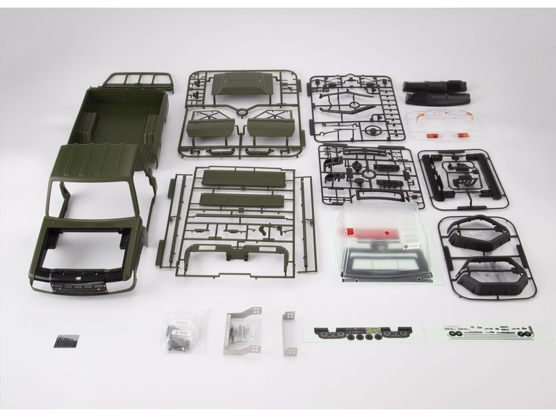 Killerbody karosérie 1:10 Toyota Land Cruiser 70 zelená (Traxxas TRX-4)
