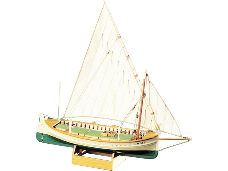 COREL Llaut rybářská loď 1:25 kit