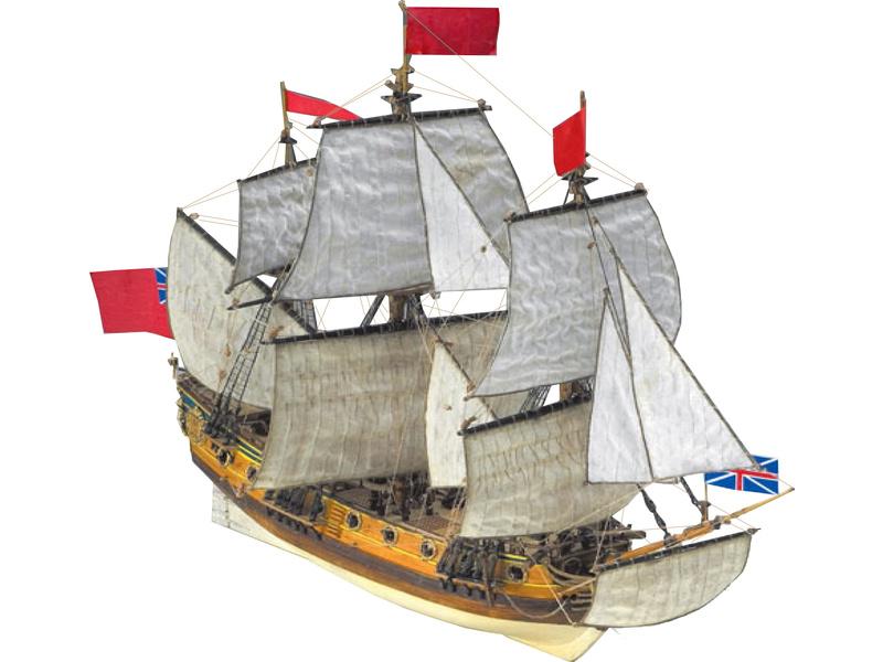 COREL H.M.S. Peregrine 1749 1:96 kit