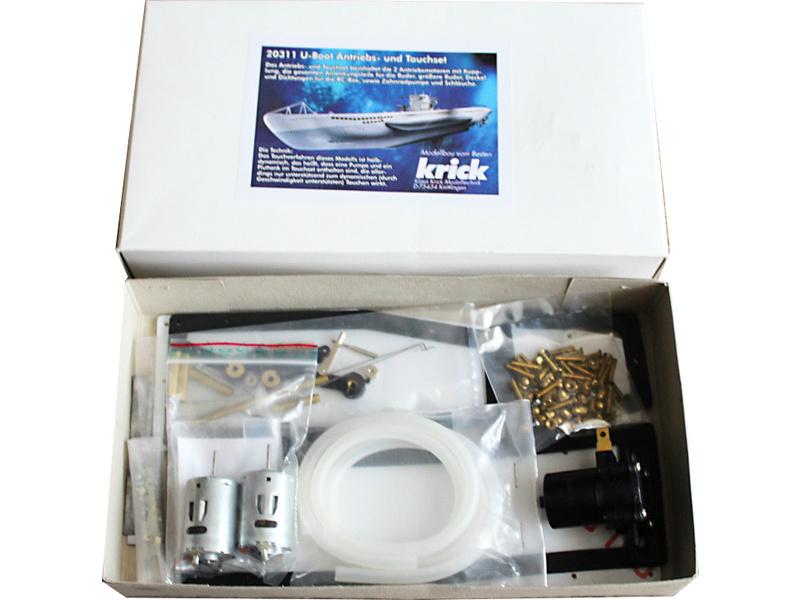 Krick Ponorka U-Boot Typ VII - sada ponor + pohon