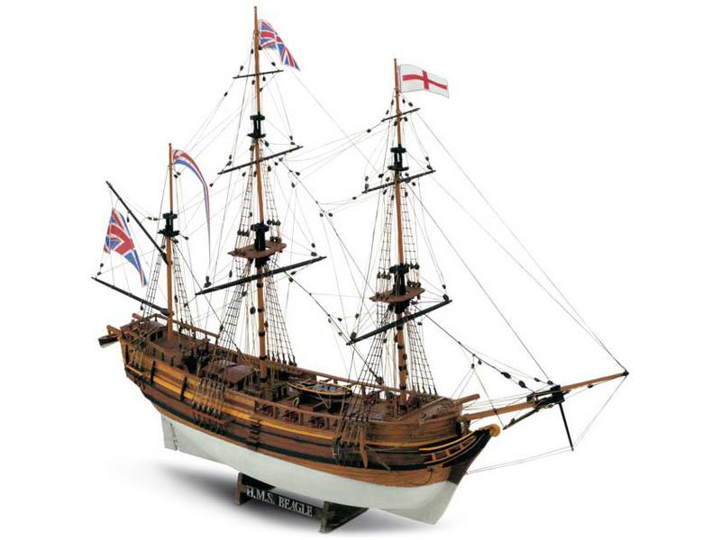 MAMOLI H.M.S. Beagle 1817 1:64 kit