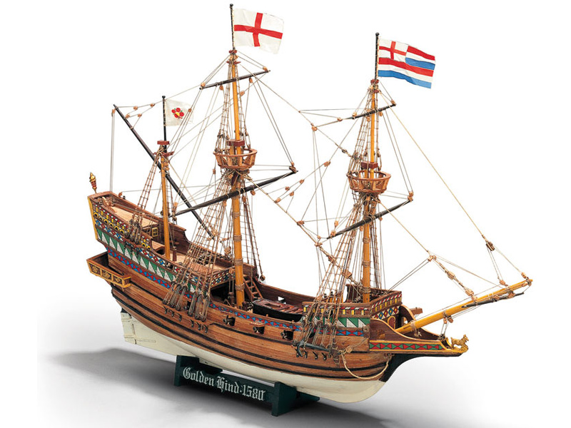 MAMOLI Golden Hind 1577 1:53 kit